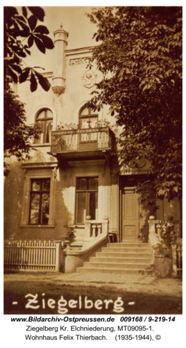 Ziegelberg, Wohnhaus Felix Thierbach