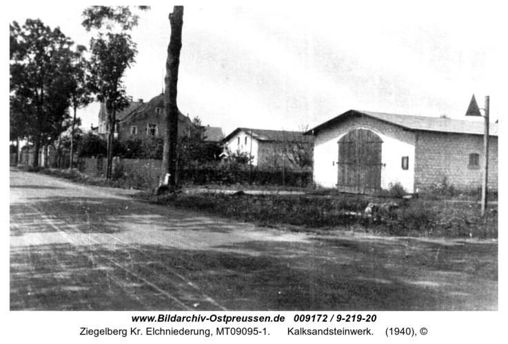 Ziegelberg, Kalksandsteinwerk