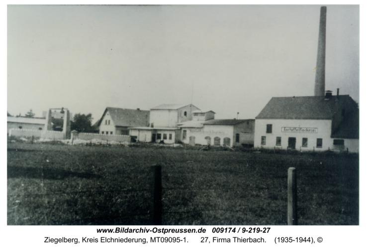 Ziegelberg, 27, Firma Thierbach