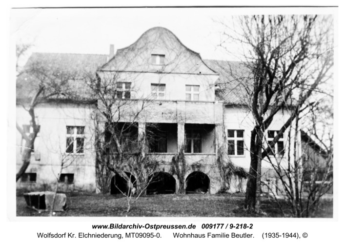 Wolfsdorf, Wohnhaus Familie Beutler