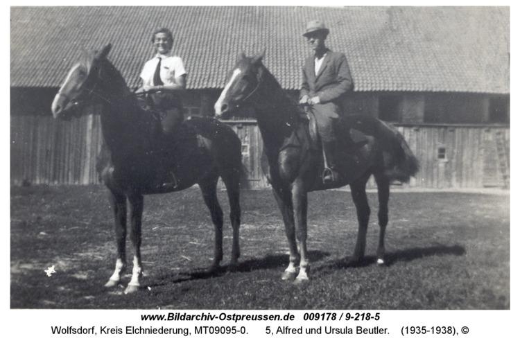 Wolfsdorf, 5, Alfred und Ursula Beutler