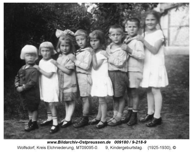 Wolfsdorf, 9, Kindergeburtstag