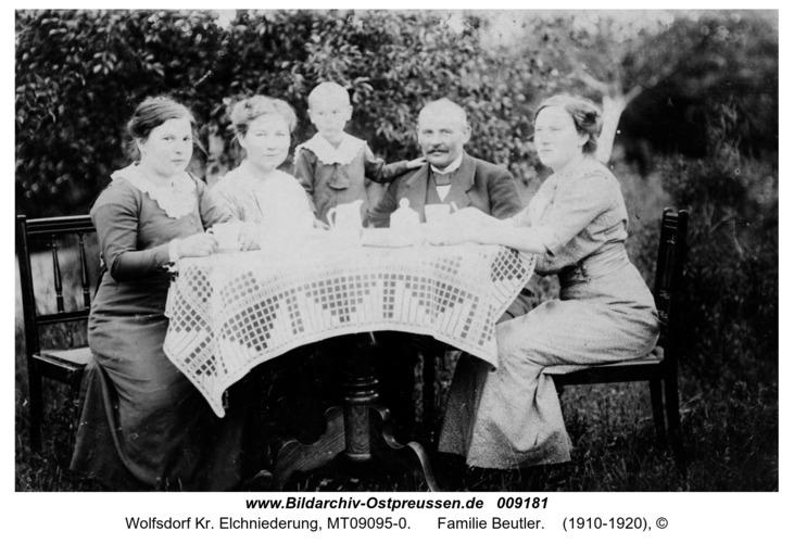 Wolfsdorf, Familie Beutler