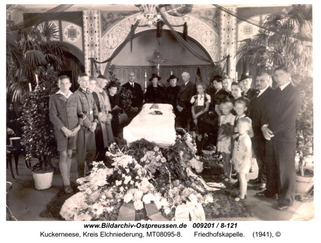 Kuckerneese, Friedhofskapelle