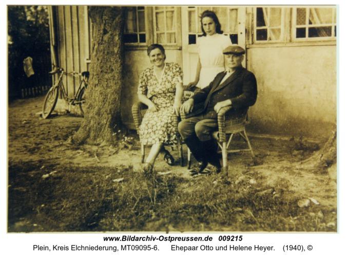Plein, Ehepaar Otto und Helene Heyer