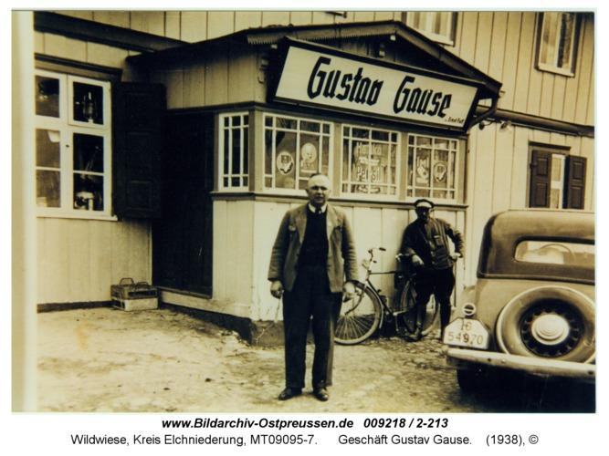 Wildwiese, Geschäft Gustav Gause