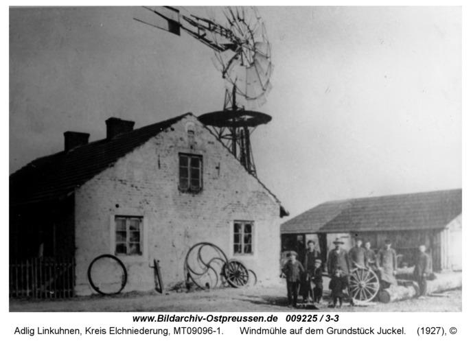 Adlig Linkuhnen, Windmühle auf dem Grundstück Juckel