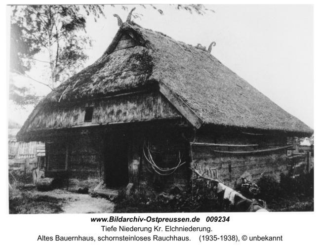 Tiefe Niederung, altes Bauernhaus