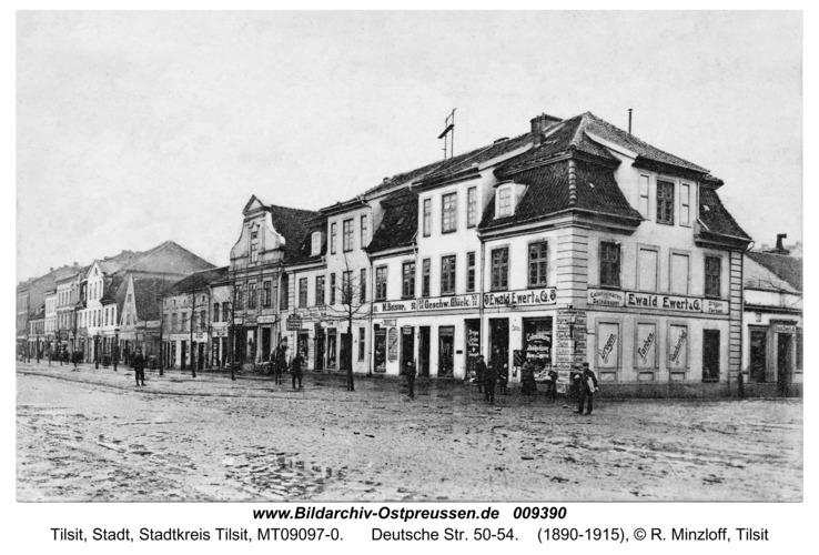 Tilsit, Deutsche Str. 50-54