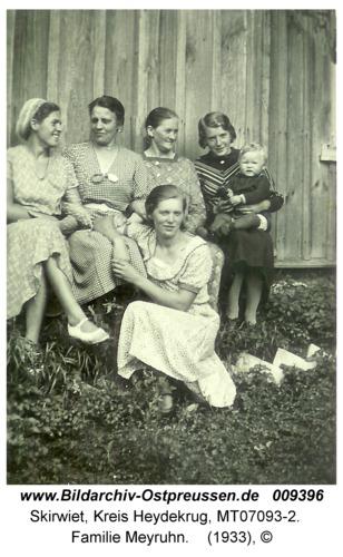 Skirwiet, Familie Meyruhn