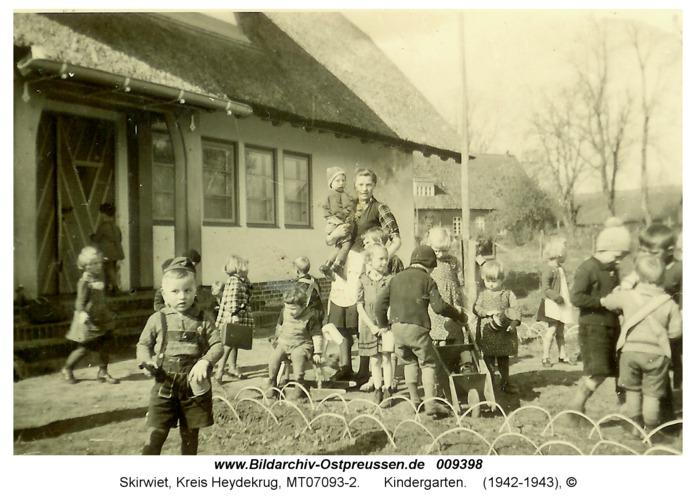 Skirwiet, Kindergarten