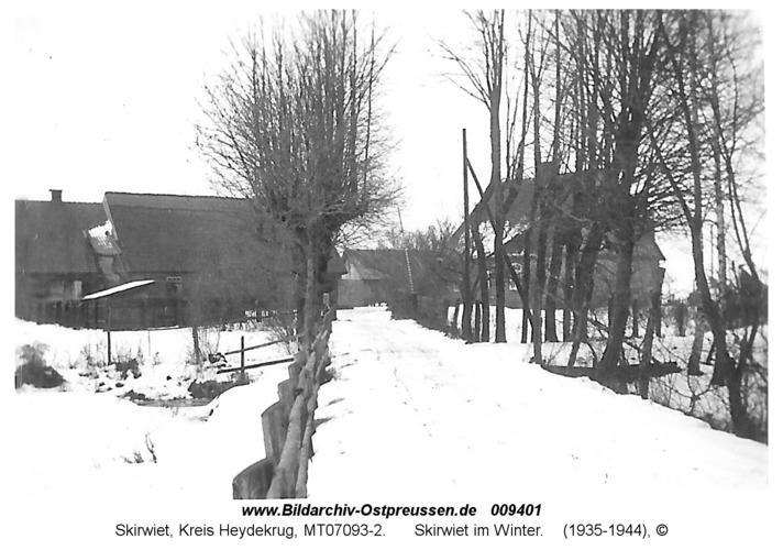 Skirwiet im Winter