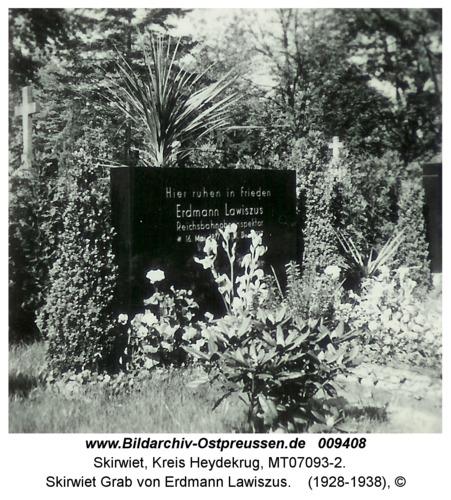 Skirwiet Grab von Erdmann Lawiszus