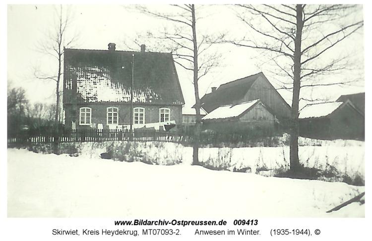 Skirwiet, Anwesen im Winter