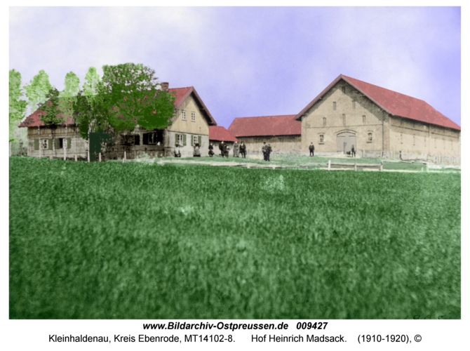 Kleinhaldenau, Hof Heinrich Madsack