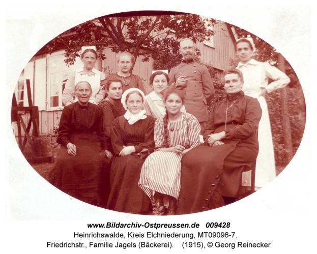 Heinrichswalde, Friedrichstr., Familie Jagels (Bäckerei)