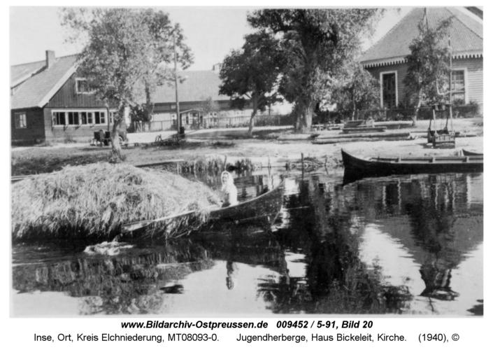 Inse, Jugendherberge, Haus Bickeleit, Kirche