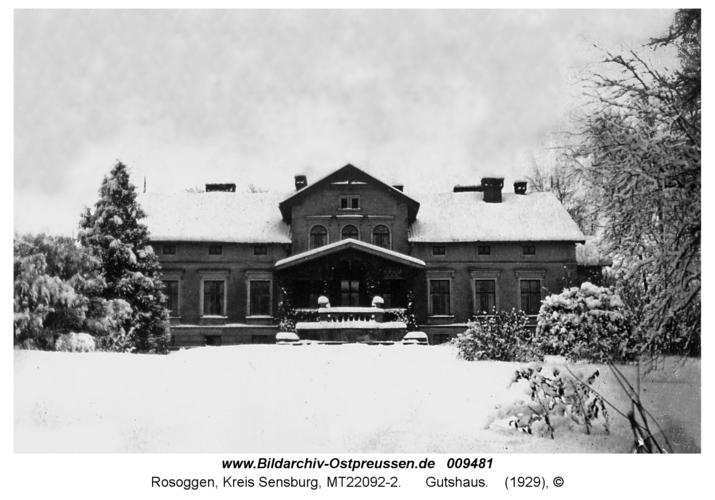 Rosoggen, Gutshaus