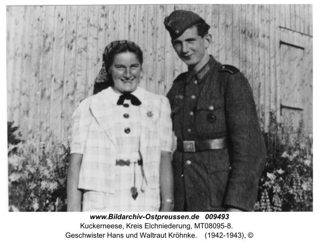 Kuckerneese, Geschwister Hans und Waltraut Kröhnke