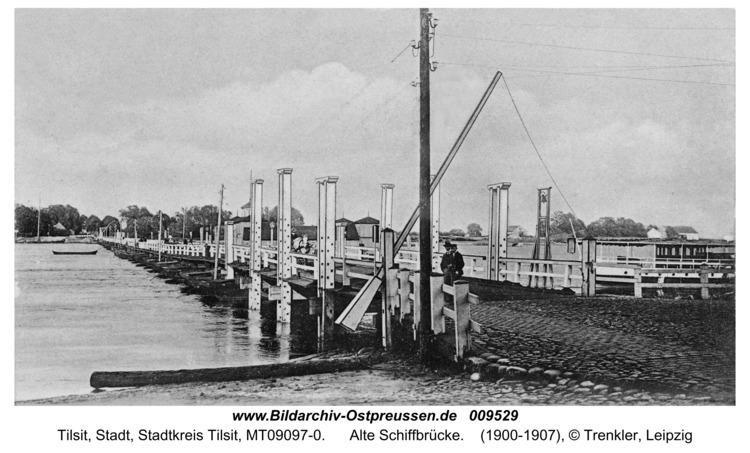 Tilsit, Alte Schiffbrücke