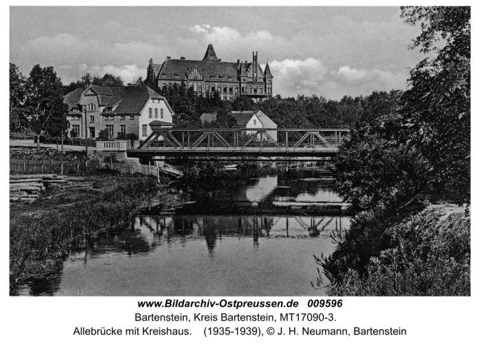 Bartenstein, Allebrücke mit Kreishaus