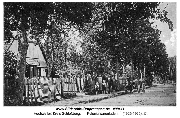 Hochweiler, Kolonialwarenladen