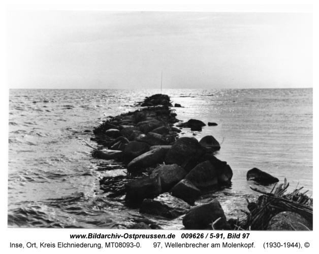 Inse, 97, Wellenbrecher am Molenkopf