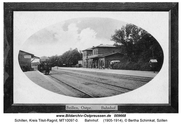 Schillen, Bahnhof