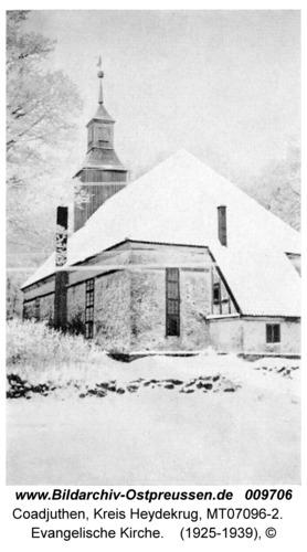 Coadjuthen, Evangelische Kirche