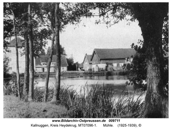 Kallnuggen, Mühle