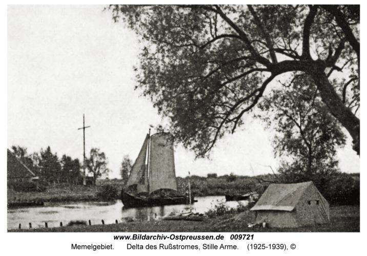 Memelgebiet, Delta des Rußstromes, Stille Arme