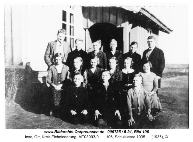 Inse, 106, Schulklasse 1935