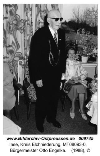 Inse, Bürgermeister Otto Engelke
