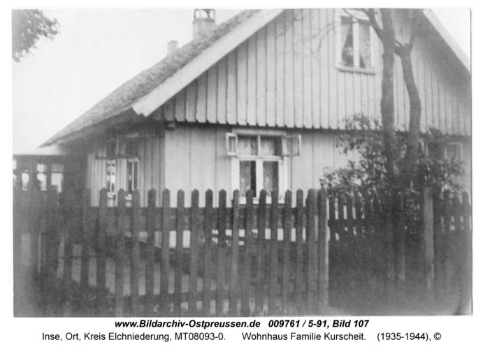 Inse, Wohnhaus Familie Kurscheit