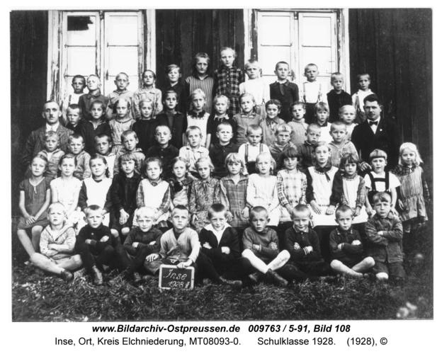Inse, Schulklasse 1928