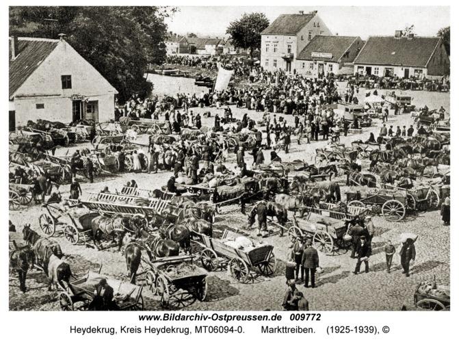 Heydekrug, Markttreiben