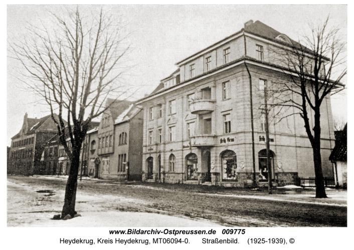 Heydekrug, Straßenbild