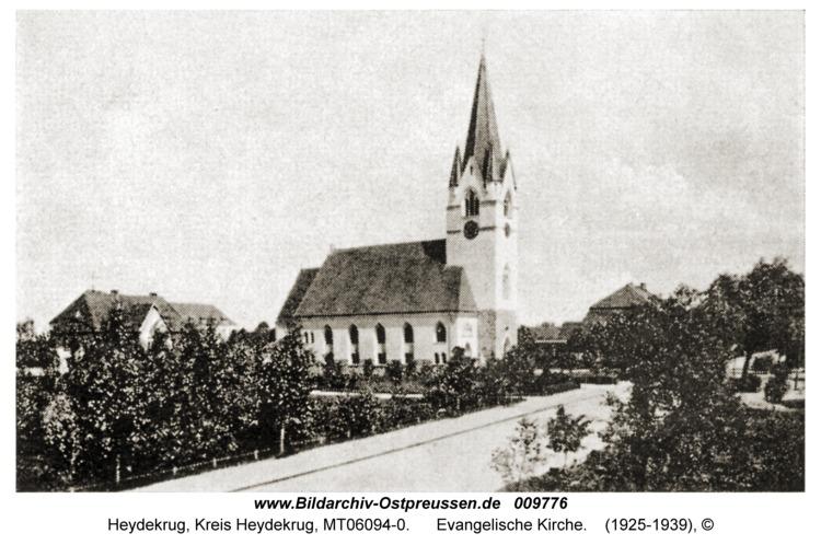 Heydekrug, Evangelische Kirche