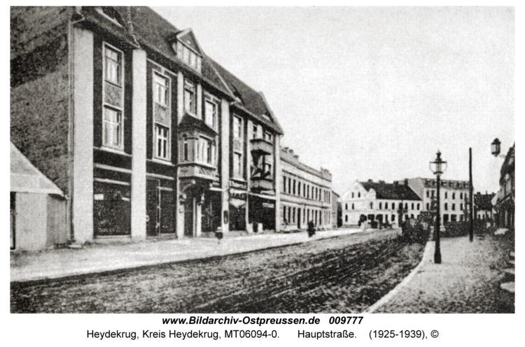Heydekrug, Hauptstraße