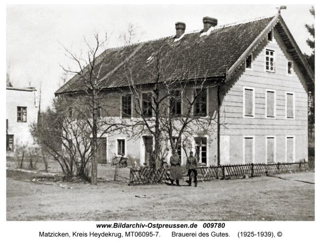 Matzicken, Brauerei des Gutes