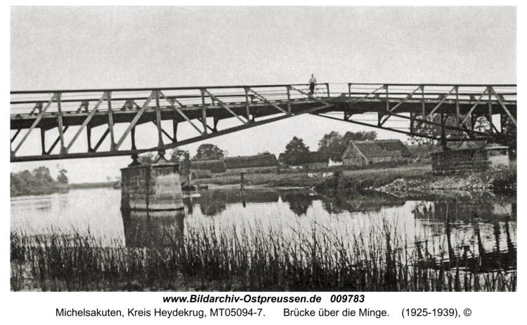 Michelsakuten, Brücke über die Minge
