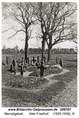 Memelgebiet, Alter Friedhof