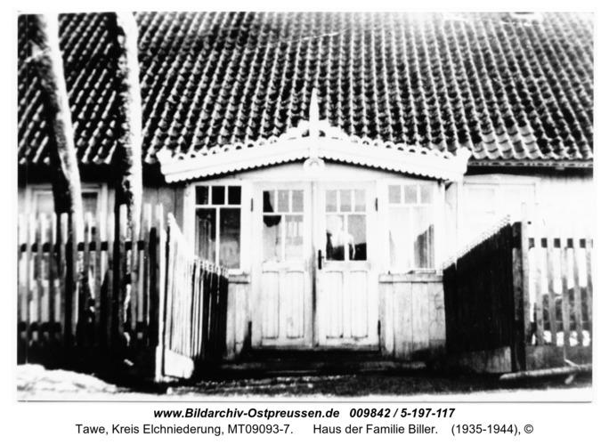Tawe, Haus der Familie Biller