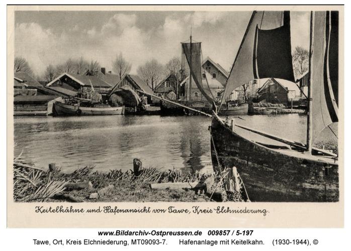 Tawe, Hafenanlage mit Keitelkahn