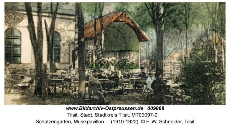 Tilsit, Schützengarten, Musikpavillon