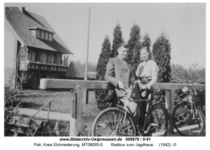 Pait, Radtour zum Jagdhaus