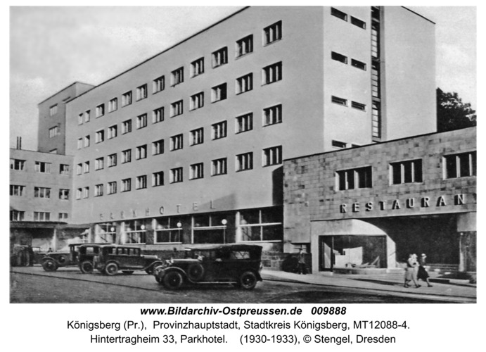 Königsberg, Parkhotel