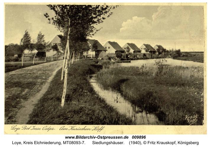 Loye, Siedlungshäuser