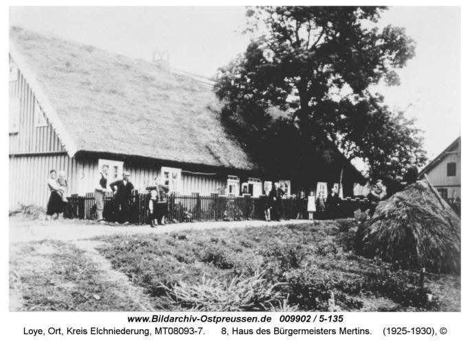 Loye, 8, Haus des Bürgermeisters Mertins
