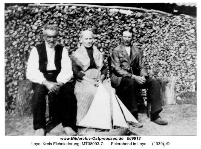 Loye, Feierabend in Loye